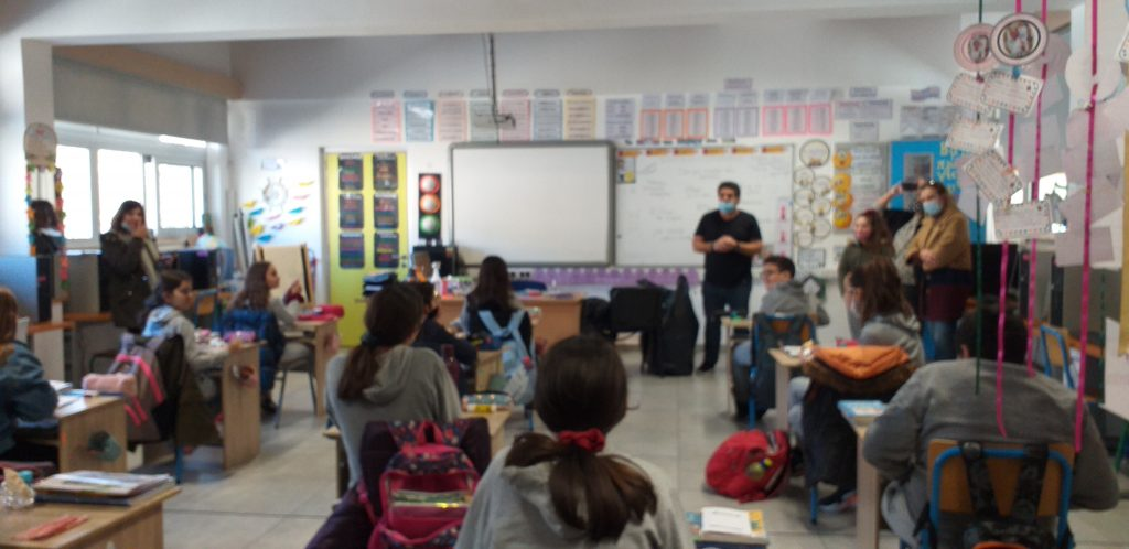 Η συμβολή μας στη σχολική κοινότητα με στόχο τη καλλιέργεια εθελοντικής συνείδησης.